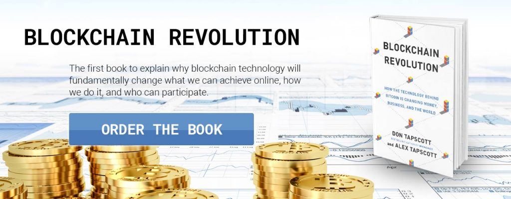 Blockchain Revolution: How the Technology Behind Bitcoin Is Changing Money, Business, and the World by Don and Alex Tapscott.